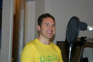 Author and playwright Alan Bissett