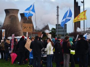 Tell Mr Murphy this is what an anti-fracking protest looks like