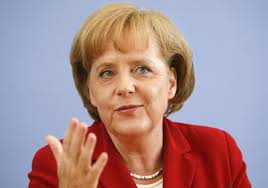 German Premier Angela Merkel