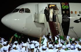 Megrahi's return to Libya