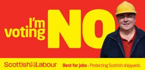Move along there, nothing to see here... Scottish Labour's wildly successful referendum campaign slogan