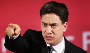 Miliband: Policy vacuum