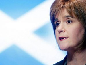 Sturgeon: an apparent victim of the old political trick - when in doubt, lie.
