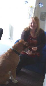 Anne meets the Dug