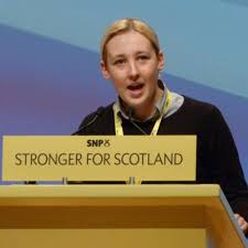 "Mhairi Black: Derided by Twitter's ""History Woman""."