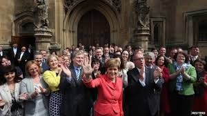 The party that lost the referendum won 56 of Scotland's 59 Westminster seats just eight months later. Go figure.