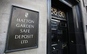 At least the Hatton Garden raid was an an example of good old fashioned honest robbery