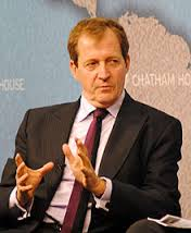 Alastair Campbell: A man who, literally, span for Britain. One of his bullying tirades was at any one time just 45 minutes away.