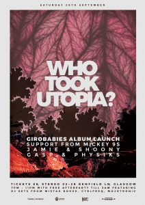 who took utopia stereo flyer