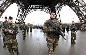 Paris: A Western capital undergoing a sense of siege