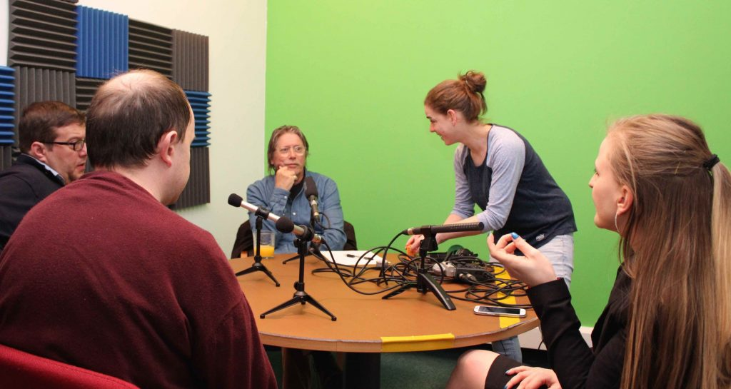 Producer Amanda Mitchell takes on the unravelling job as we get ready to record