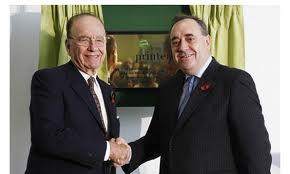 Murdoch and Alex Salmond: A controversial relationship