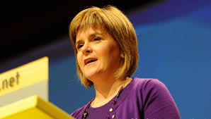 Nicola Sturgeon: be careful what you wish for...
