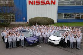 The Nissan plant at Sunderland, which makes cars for the EU market. Sunderland was the first big result for Leave last week