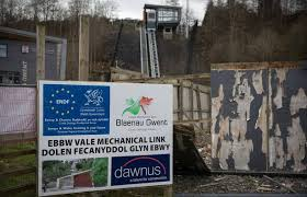 Ebbw Vale - post-industrial recipient of massive EU regeneration funds, yet this Welsh constituency voted to Leave