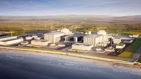 Hinkley C nuclear power station (EDF artist's impression)