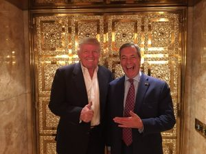 Trump with his new English butler