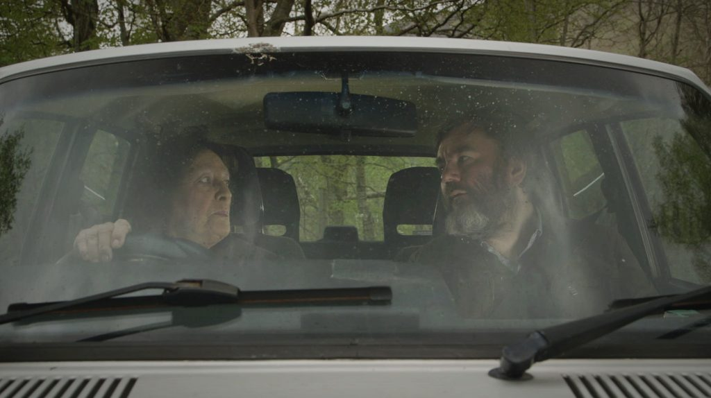 Aidan and Sheila on the road