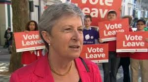 "Gisela Stuart MP - one of the people who gave us the ""£350m money"" back bus..."