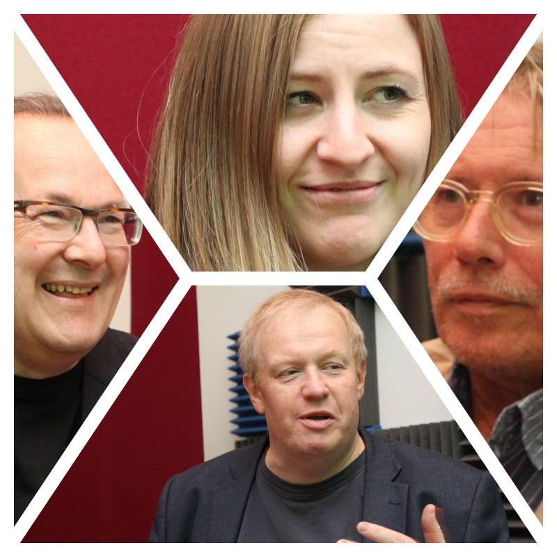 Clockwise from top: Haggerty, Bateman, Arnott, Smith.