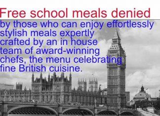 Free school meals denied