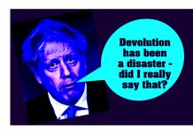 Johnson: Devolution a disaster
