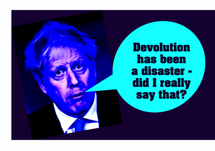Johnson: Devolution a disaster
