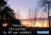 Christmas Eve Sunset