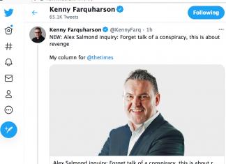 Kenny Farquharson The Times 23 Feb 2021