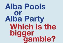 Alba Party the gamble