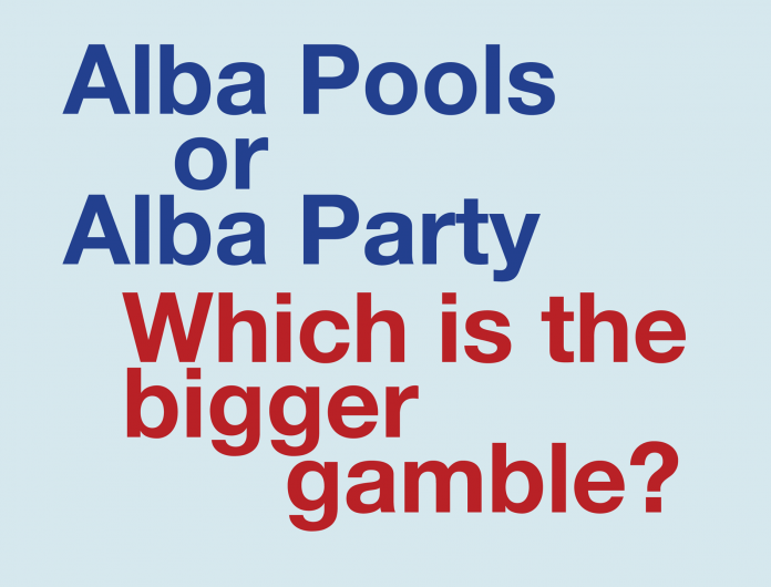 Alba Party the gamble