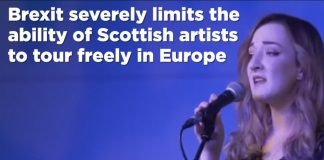 Brexit severely limits the ability of Scottish artists to tour freely in Europe