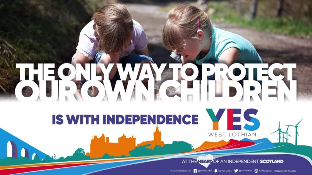 The only way to protect our children is with independence