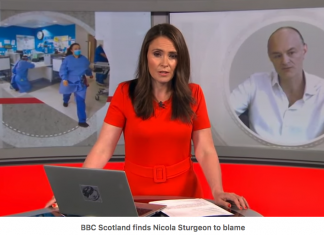 BBC Scotland on Cummings revelations finds Nicola Sturgeon to blame for 4 nations breakdown