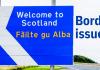 Scottish Border with England