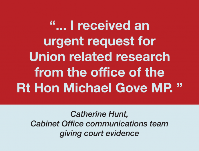 Union related research tacked on to Covid research